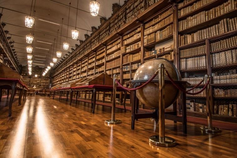 Salone Teresiano della Biblioteca Universitaria di Pavia - MiBAC