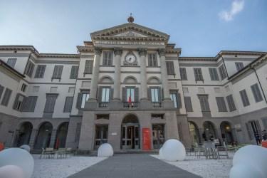Accademia Carrara, ingresso