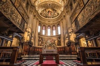 Abside e coro, Chiesa di Santa Maria Maggiore