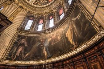 Abside della Chiesa di Santa Maria Maggiore, particolare