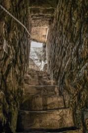 Torre del Gombito, scalette interne