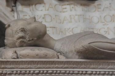 Tomba di Medea, Cappella Colleoni, particolare