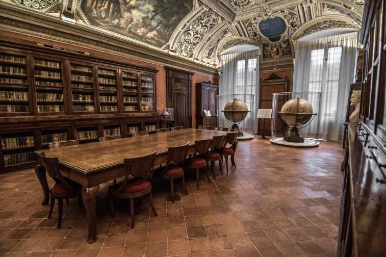Salone Furietti, Civica Biblioteca Angelo Mai