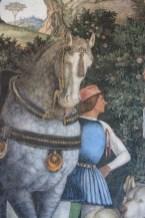 Andrea Mantegna, particolare della Parete dell'Incontro, Camera degli Sposi, Castello di San Giorgio