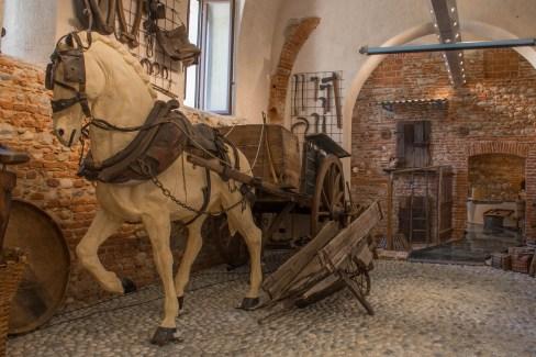 Carro da lavoro. Museo Etnografico di Oleggio