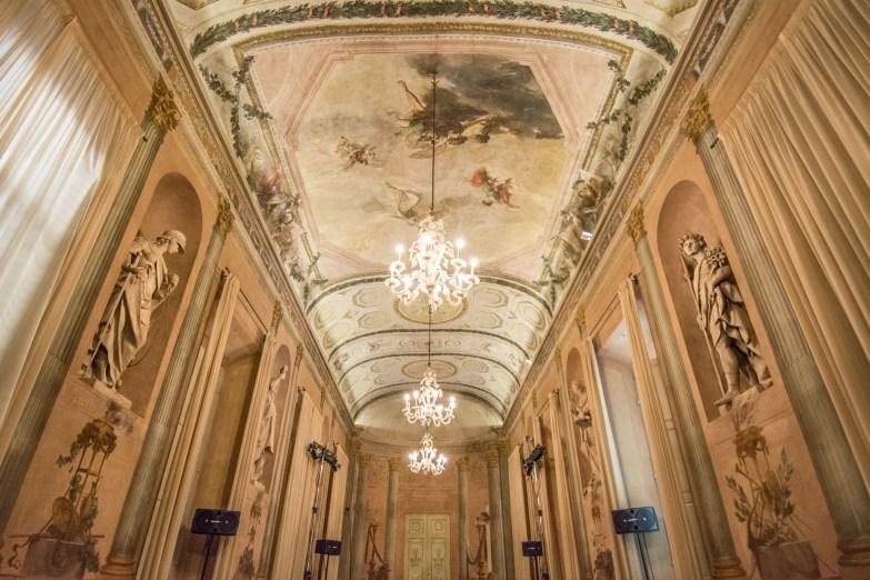 Ridotto del Teatro Comunale Masini, realizzato dall'arch. Giuseppe Pistocchi XVIII sec. Faenza