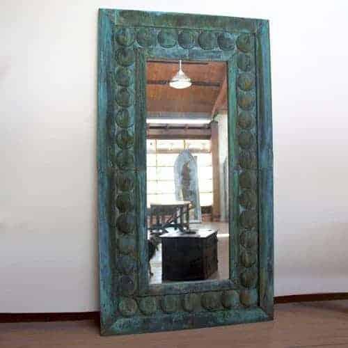 verdigris mirror