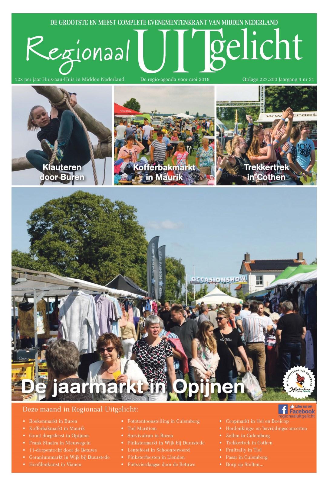 Adverteren in Regionaal Uitgelicht editie Houten