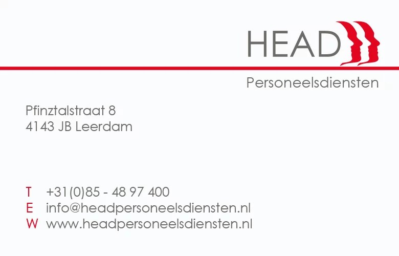 Head Personeelsdiensten Leerdam