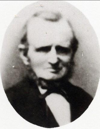 1860, approx Johannes Christiaan Bensdorp (1817-1875), père de Moe