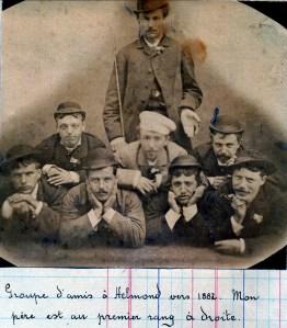 1882 Arnold der Kinderen à droite
