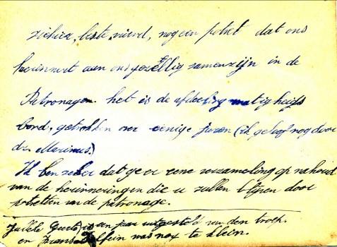 1900, approx classe de Jean - texte derrière la photo
