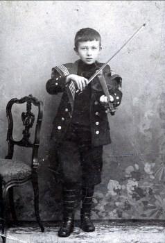 1902, approx Kobus Kloppert, ami de classe de Frans der Kinderen en Hollande
