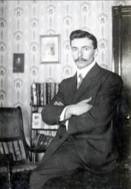 1912, François der Kinderen, 21 ans