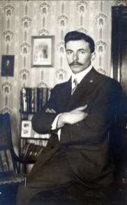 1914, François der Kinderen à Shawinigan Falls