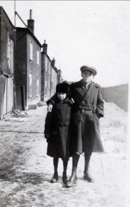 1917 approx Laurette Thivierge et Lauréat Bergeron (Ti-lou)
