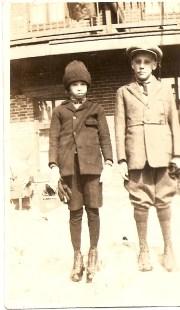 1918 approx Albert Thivierge et Ti-Lou Bergeron