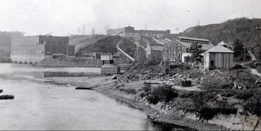 1920, centrale électrique à Shawinigan Falls - François de Kinder commis en chef
