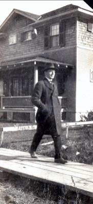 1920. Jean der kinderen (onkel), rue Champlain