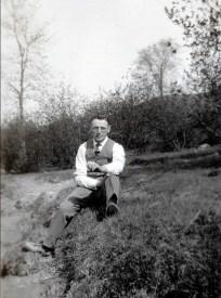 1922, Onkel, oncle Jean à Shawinigan