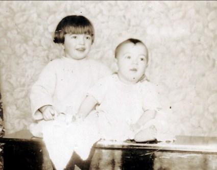 1926, Louis et Robert de Kinder