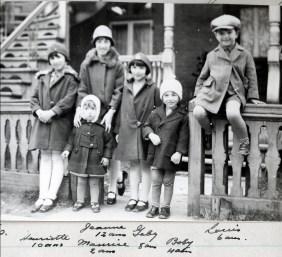 1929, enfants de Kinder