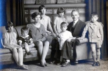 1929, octobre, famille de Kinder