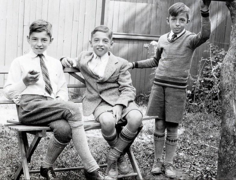 1935, Louis, Robert et Maurice (2)