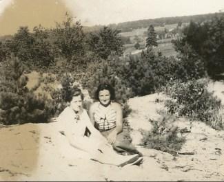 1936, Henriette en vacances à Shawinigan