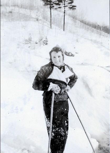 1938, février Henriette de Kinder à Shawinigan