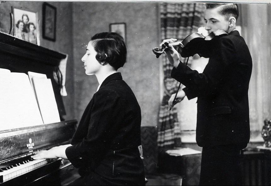 1939, Gaby et Robert de Kinder