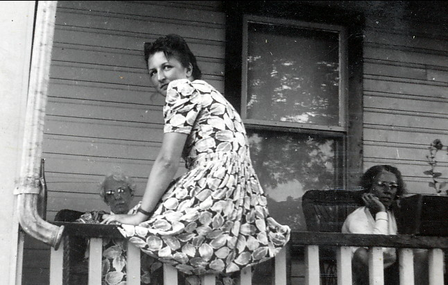 1939, Henriette à la ferme Joly