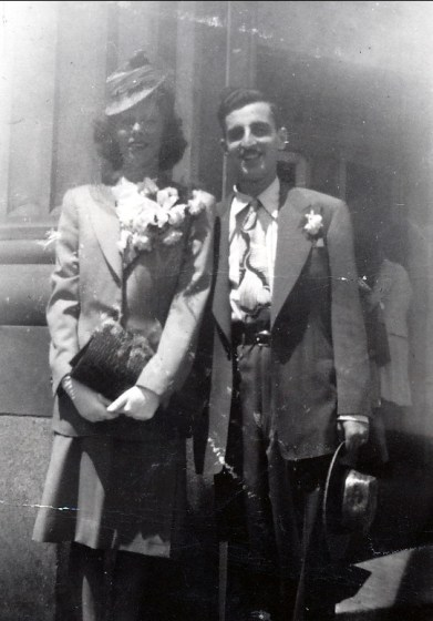 1939, Laurette Thivierge et Johnny Sofio