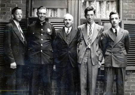1939, Maurice de Kinder, Albert Thivierge, François de Kinder, Louis et Robert