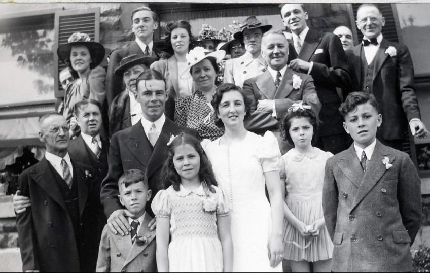 1940, 25 mai - Mariage Henriette et Albert - 1