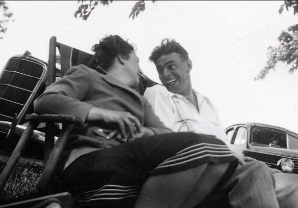 1940, Henriette et Albert Thivierge