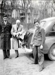 1940, Louis, François et Maurice de Kinder