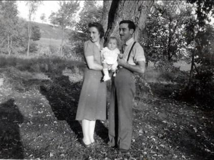 1941, Henriette, Paulette et Jean-Paul