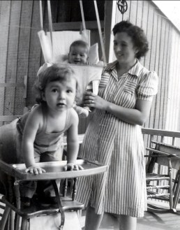 1942, Paulette, Marc, Henriette