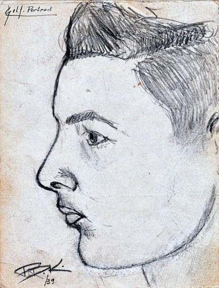 1942, approx dessin de Robert de Kinder