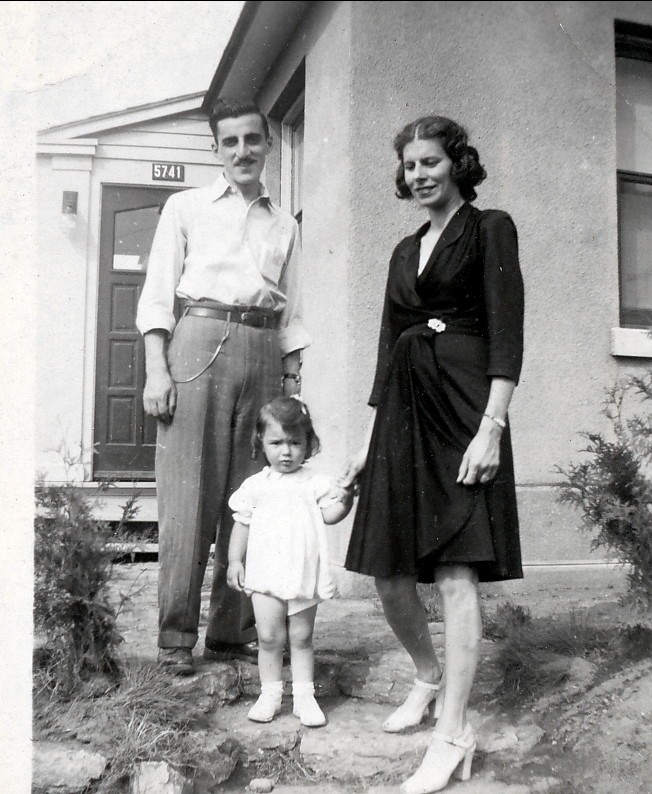 1946, Johnny et Laurette Sofio