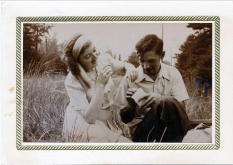 1946 approx Ruth et Louis de Kinder