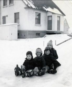 1947, Bobby, Irène, Marc et Paulette