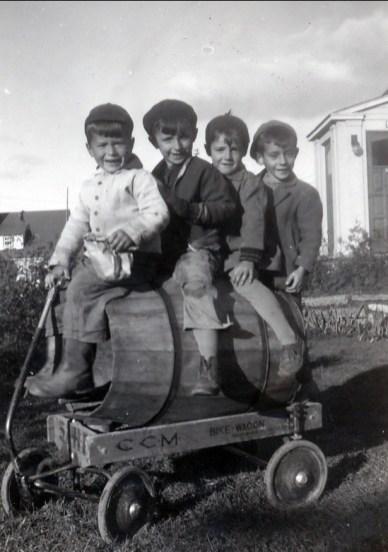 1948, Marc, Michel Mathieu, André Bayard, André Thibodeau