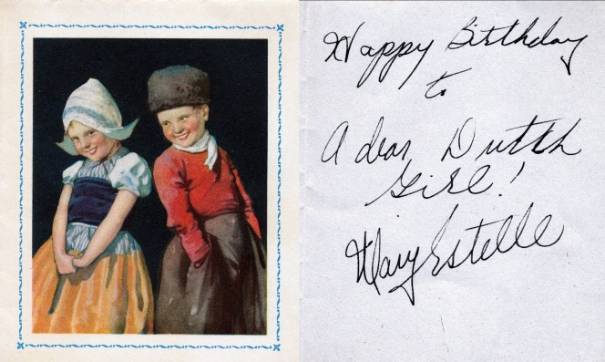 1950, lettre de Mary Estelle-2- souhaits du Luxembourg