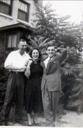 1951, Albert Thivierge, Margie Duncan et Johnny Sofio