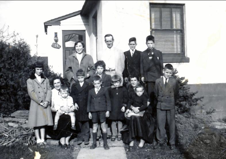 1953, familles Thivierge et Bertrand