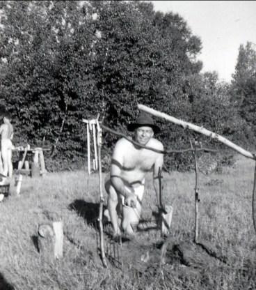 1955, Albert à St-Canut (3)