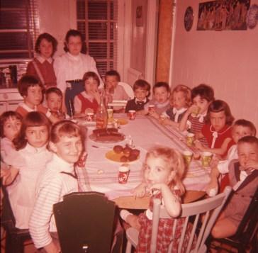 1957, approx fête enfants Naubert et de Kinder (2)