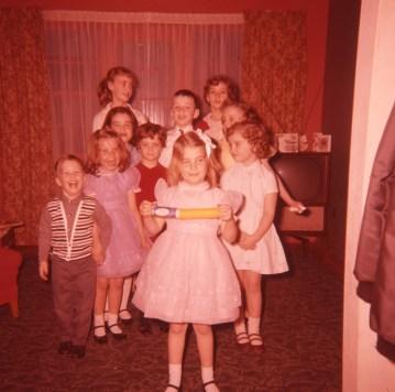 1957, approx fête enfants de Kinder